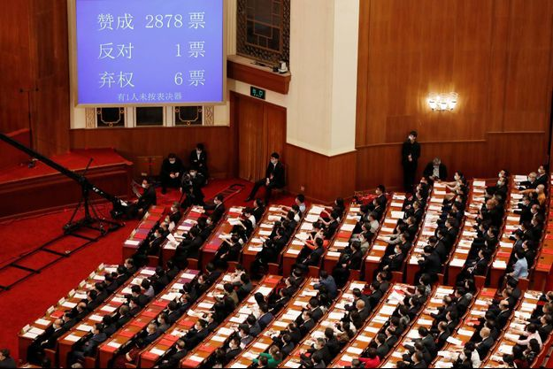 Le Parlement chinois a adopté la loi ce jeudi.