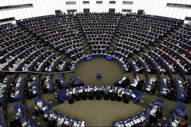 Le Parlement européen, le 15 février 2017.