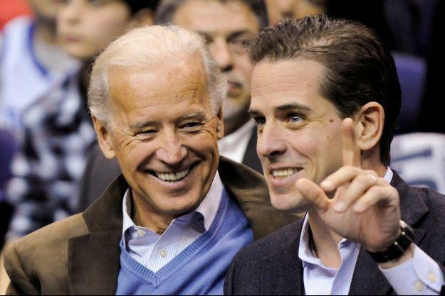 Joe et Hunter Biden en 2010.