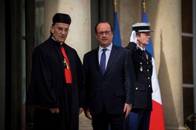 En visite officielle la semaine dernière à Paris, le patriarche des maronites d'Antioche et de tout l'Orient a été reçu par François Hollande.