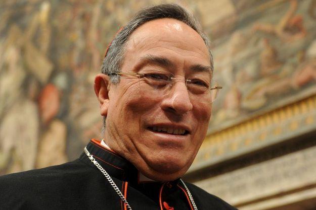 Son Eminence Oscar Andres Rodriguez Maradiaga, cardinal et archevèque de Tegucigalpa au Honduras
