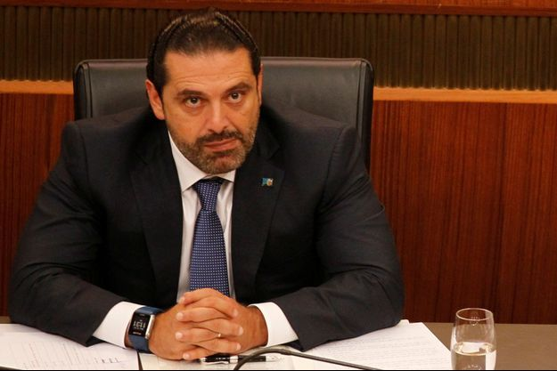 Saad Hariri à Beyrouth, au Liban le 18 octobre 2017.