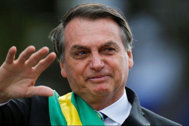 Jair Bolsonaro, le 7 septembre au Brésil.