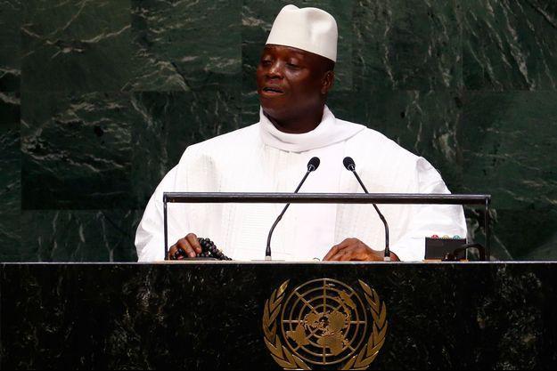 Le président gambien Yahya Jammeh.