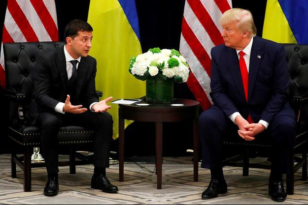 Volodymyr Zelensky, Donald Trump