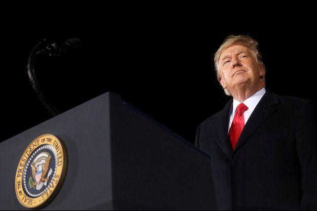 Donald Trump en Géorgie, le 4 janvier 2021.