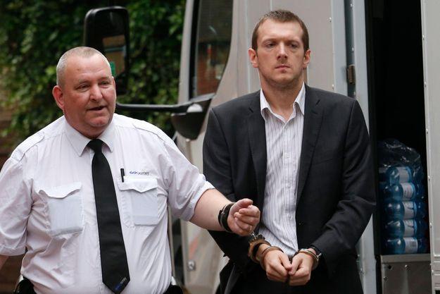 Jeremy Forrest à son arrivée au tribunal.
