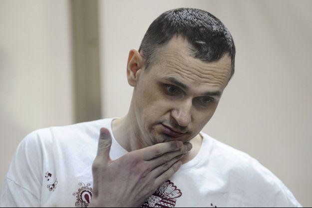 Le réalisateur ukrainien Oleg Sentsov.