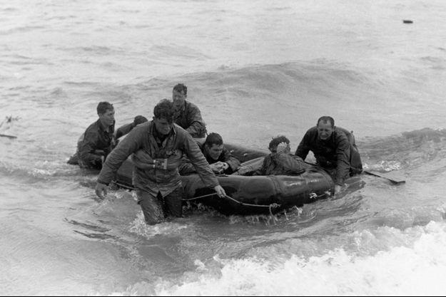 Omaha Beach, le 6 juin 1944.