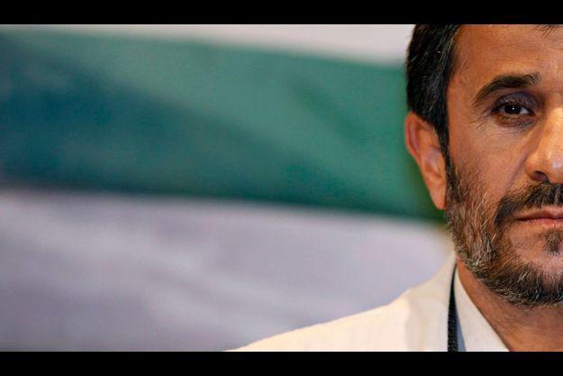 Mahmoud Ahmadinedjad.