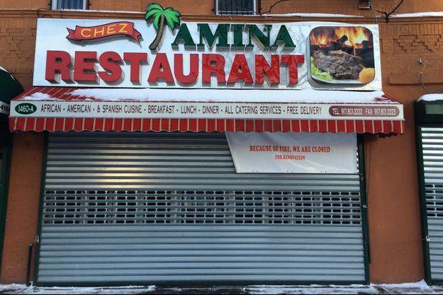 Le restaurant de Nafissatou Diallo dans le Bronx est fermé.