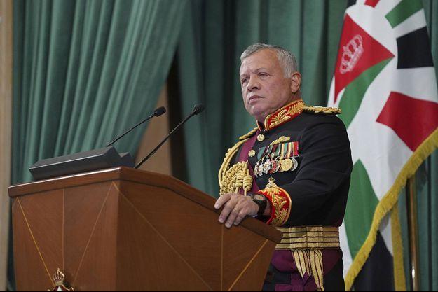 Le roi Abdallah II de Jordanie.