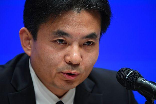 Yang Guang, porte-parole du Bureau des affaires de Hong Kong et Macao, a lancé mardi un avertissement aux manifestants de Hong Kong.