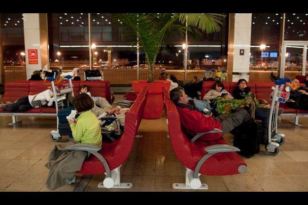 A l'aéroport d'Orly, vendredi soir