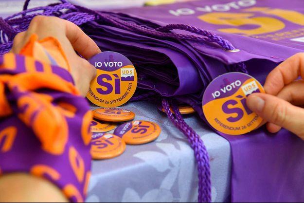 Saint-Marin a approuvé la légalisation de l'IVG à l'issue d'un référendum.