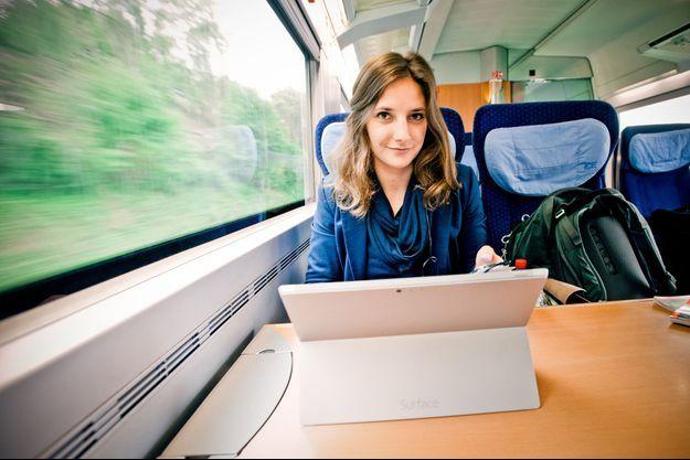 Leonie Müller a choisi de vivre... dans un train.