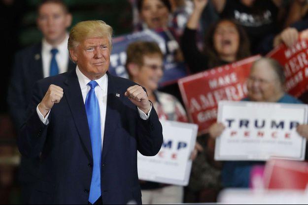Donald Trump lors d'un discours à Denver, le 5 novembre.
