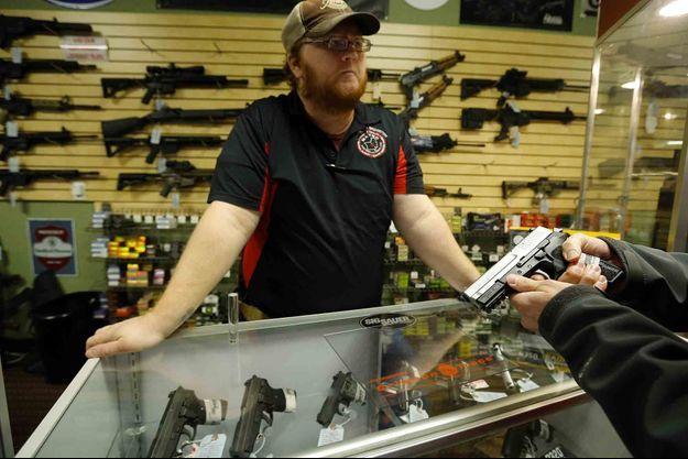 Un vendeur d'armes à feu dans le Missouri.
