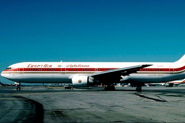 Le Boeing 767-366 ER de la compagnie Egyptair avant son crash.