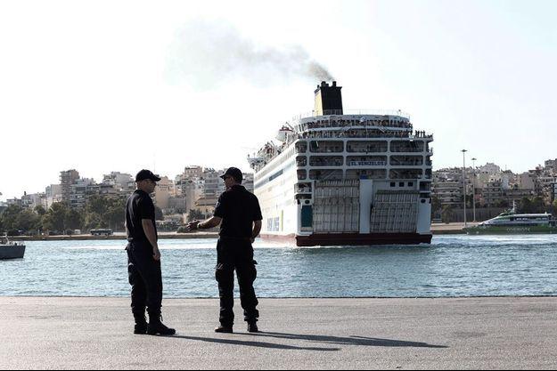 Arrivée sur l'île de Leros (photo d'illustration)