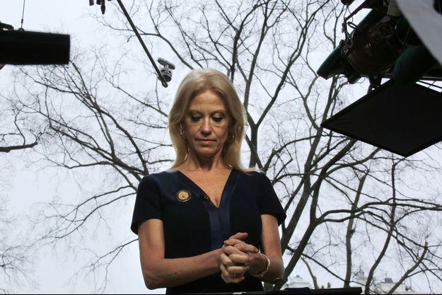 Kellyanne Conway, l'ancienne directrice de la campagne de Donald Trump devenue conseillère à la Maison Blanche.