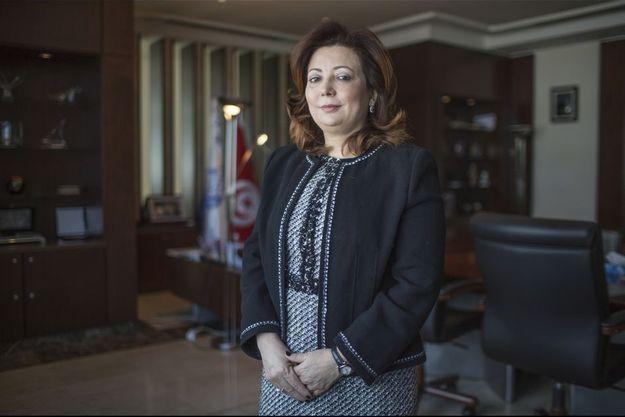 Wided Bouchamaoui en 2014.