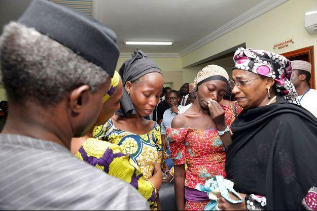 Les 21 lycéennes étaient retenues par Boko Haram.