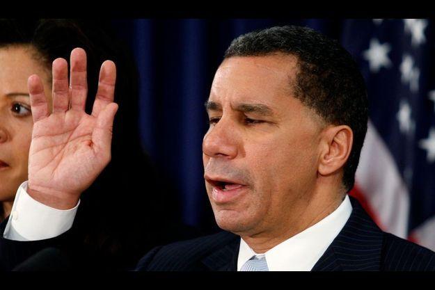 David Paterson a prêter serment le 17 mars 2008, devenant ainsi le 55ème gouverneur de l'Etat de New-York.