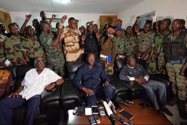 Les mutins avaient semé le désordre en Côte d'Ivoire en janvier dernier.