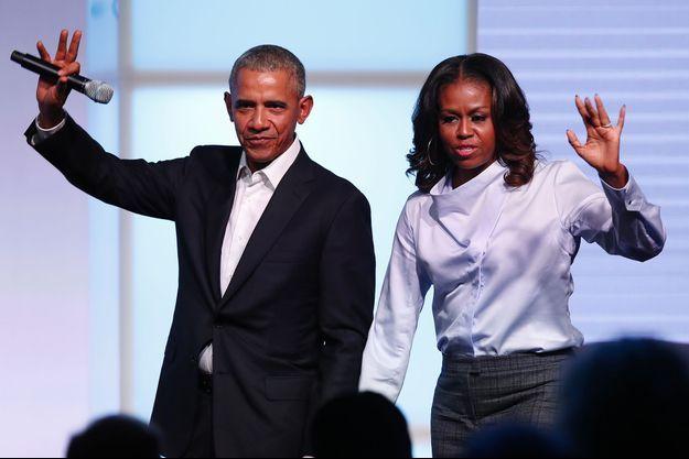 Barack et Michelle Obama.