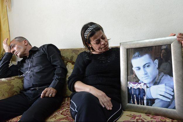 Said et Hind Musallam, les parents du prisonnier exécuté par Daech.