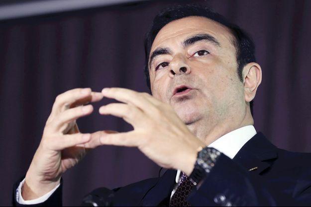 Carlos Ghosn en mai 2016.