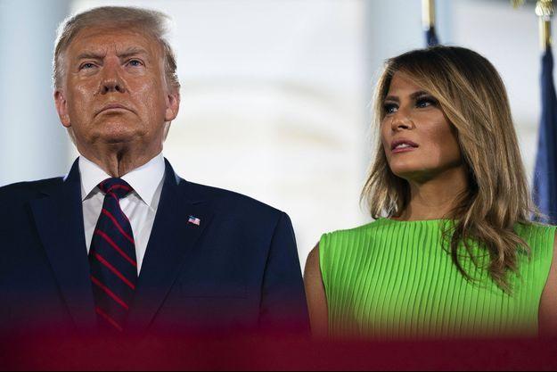 Donald et Melania Trump, le 28 août.