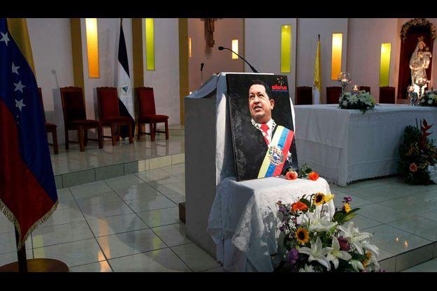 Prière à Managua.