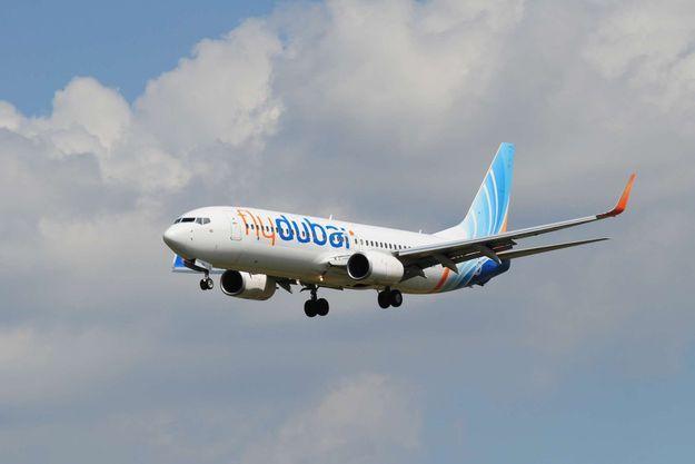 Avion de la compagnie flydubai.