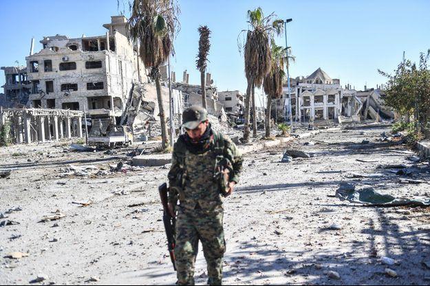 Raqqa, le 18 octobre 2017.