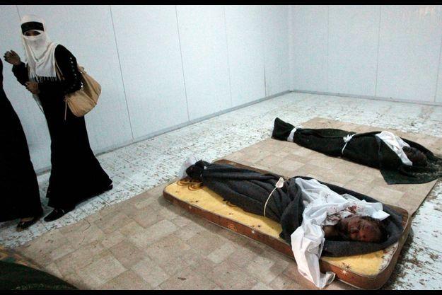 Pendant quatre jours, la dépouille de Kadhafi a été exposée à Misrata.