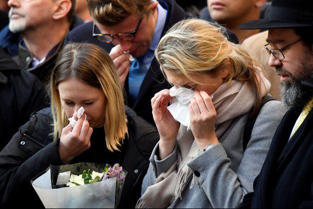 L'hommage aux deux victimes tuées à Londres.