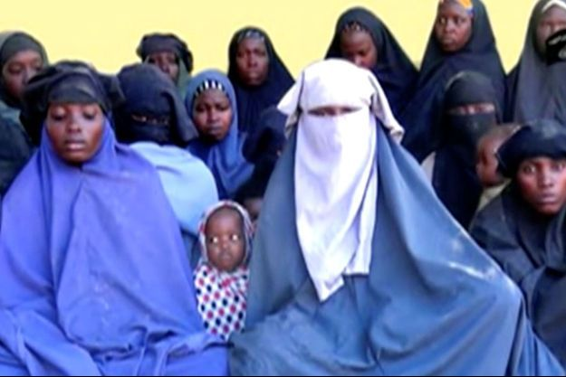 Les lycéennes de Chibok sur une vidéo diffusée par Boko Haram.