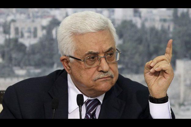 Mahmoud Abbas à Ramallah, lors d'une allocution télévisée vendredi.
