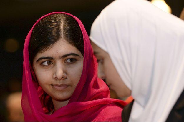 Malala a obtenu le prix Nobel de la Paix en 2014.