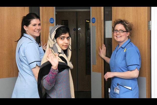 Malala est sortie de l'hôpital Queen Elizabeth de Birmingham ce vendredi, deux mois après la tentative d'assassinat dont elle a fait l'objet.