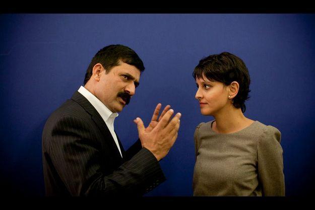 Ziauddin Yosufzai a rencontré Najat Vallaud-Belkacem, ministre française du droit des Femmes.