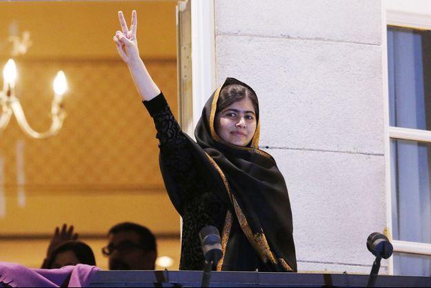 Malala à Oslo en décembre 2014.
