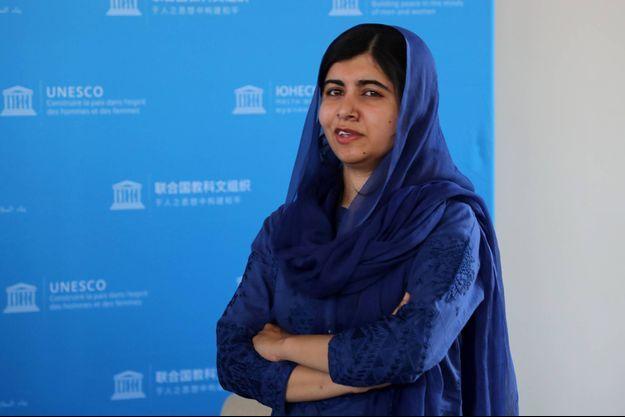 Malala Yousafzai à Paris, en juillet 2019.