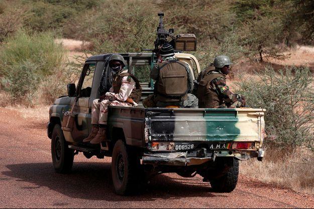 Des militaires maliens.