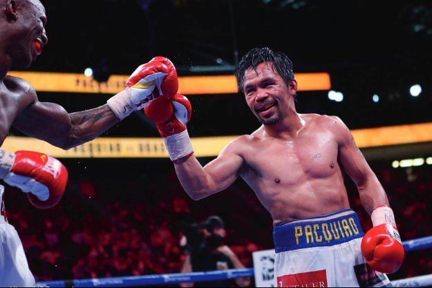 Manny Pacquiao boxe dans la catégorie président