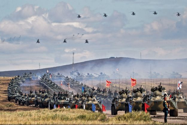 grandes manoeuvres russes