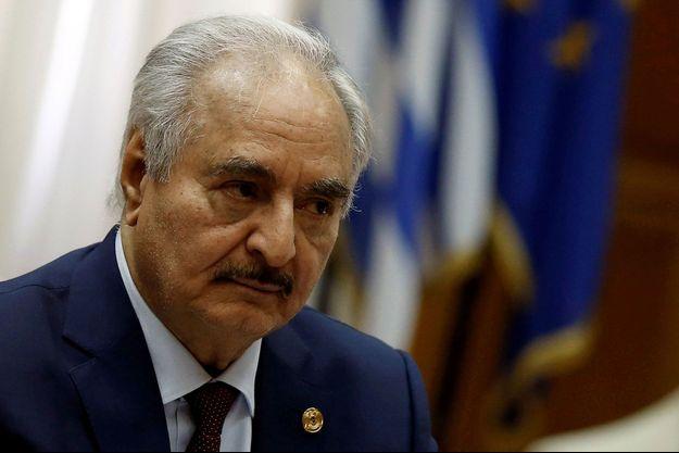 17 janvier 2020, Athènes. Visite diplomatique du maréchal Haftar.