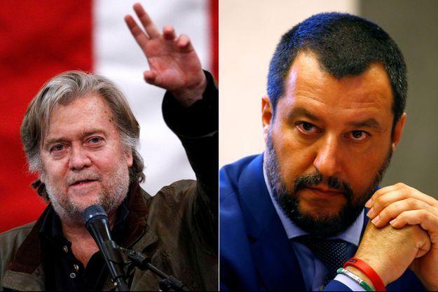 Steve Bannon Matteo Salvini